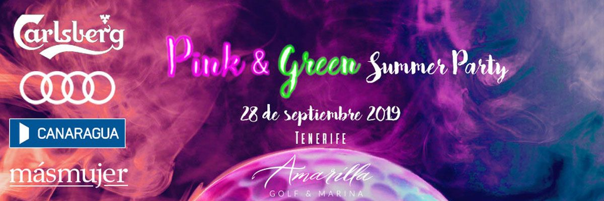 Éxito en la convocatoria para la Pink & Green Summer Party